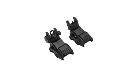 Metal Flip-Up Front & Rear Iron Sights