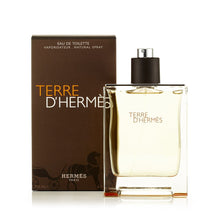 Load image into Gallery viewer, TERRE D'HERMES EAU DE TOILETTE SPRAY FOR MEN BY HERMES