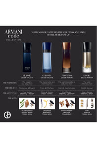 ARMANI CODE PROFUMO PARFUM SPRAY FOR MEN BY GIORGIO ARMANI