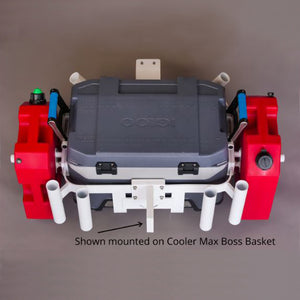 Trolling Boss - Optional Motor mount for Cooler Boss Max and Build a Basket