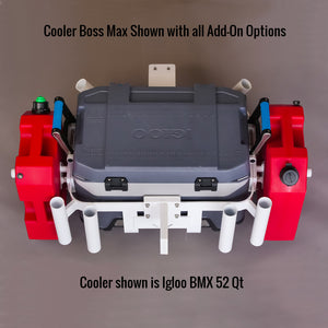 Cooler Boss Max Pro Without Coolers  -  (Rear Mount)