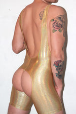 Gold Hologram Wrestler Set