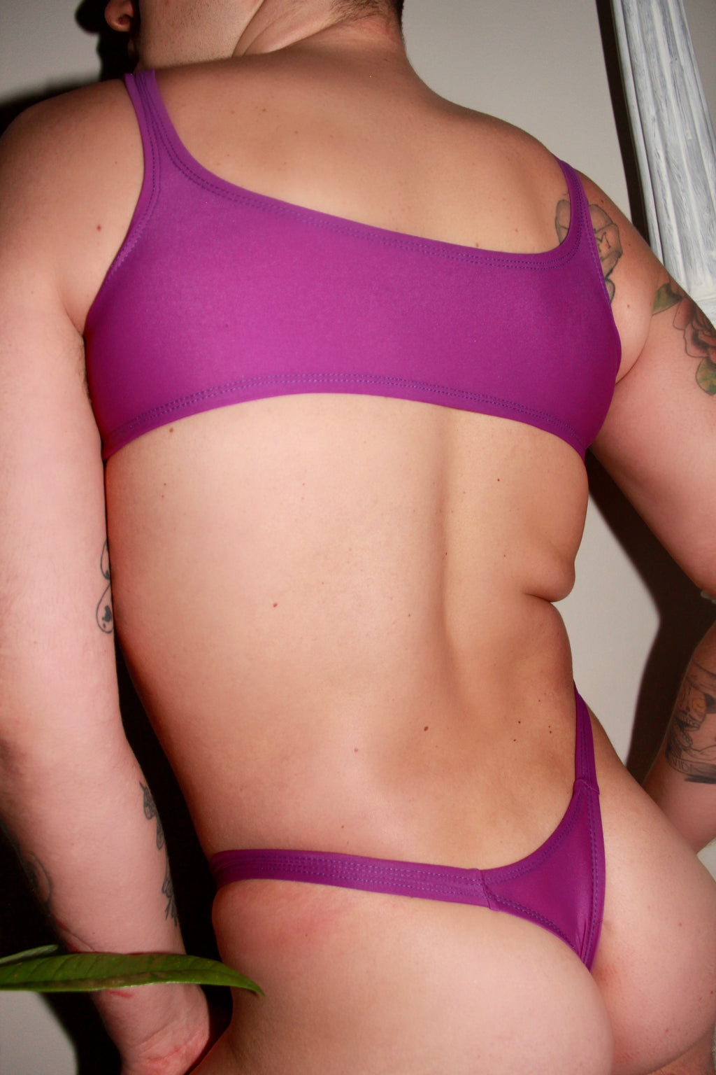 BUNDLE Purple Bralette & Thong