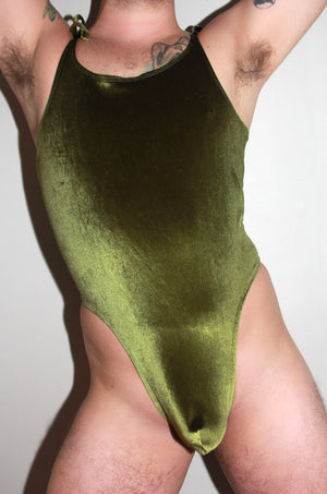 Olive You Tie Bodysuit
