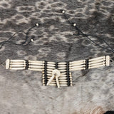 Bone Breast Plate Choker