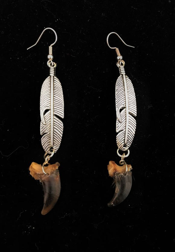 Coyote Claw Earrings
