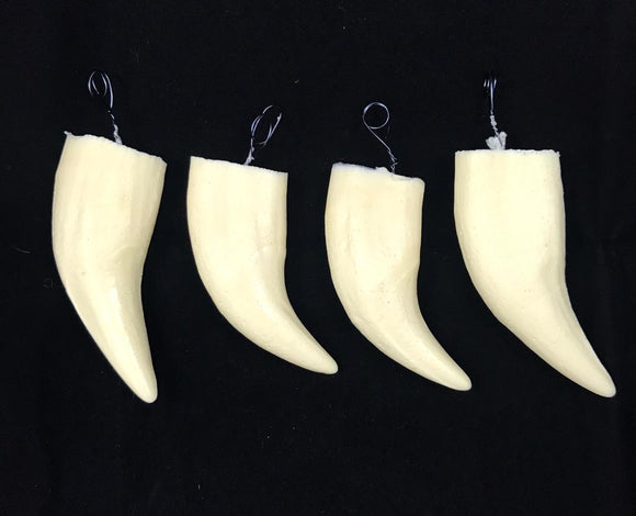 Polar Bear Replica Teeth