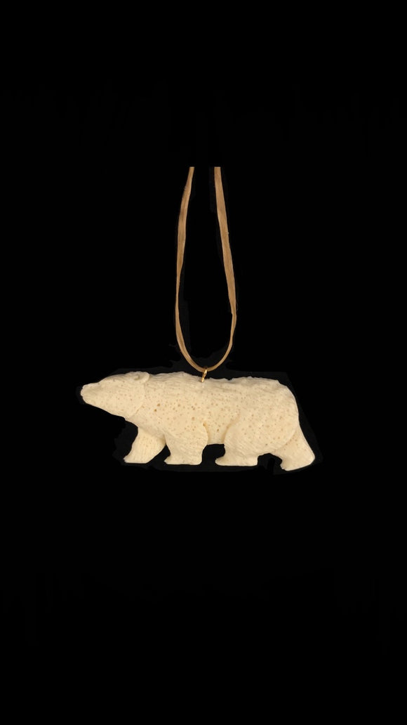 Replica Carved Bear Necklace
