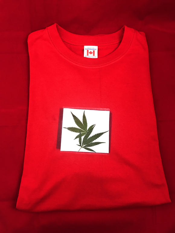 Real Weed Leaf T-Shirt Unisex