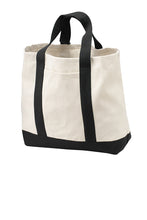 Load image into Gallery viewer, HBPC Port Authority® - Two-Tone Shopping Tote B400