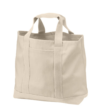 VA Port Authority® - Two-Tone Shopping Tote - B400