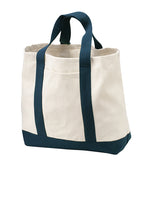 Load image into Gallery viewer, VA Port Authority® - Two-Tone Shopping Tote - B400