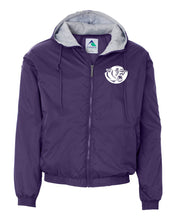Load image into Gallery viewer, ANDOVER Augusta Sportswear® Hooded Taffeta Jacket Fleece Lined