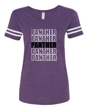 Load image into Gallery viewer, Andover Women's Football V-Neck Fine Jersey Tee - 3537