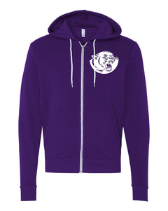 Andover BELLA Unisex Sponge Fleece Full-Zip Hoodie - 3739