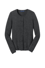 Load image into Gallery viewer, U of R Port Authority® Ladies Cardigan Sweater LSW285