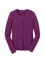 Load image into Gallery viewer, HBPC Port Authority® Ladies Cardigan Sweater LSW285