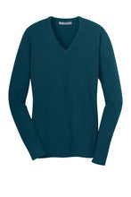 Load image into Gallery viewer, U of R Port Authority® Ladies V-Neck Sweater LSW285