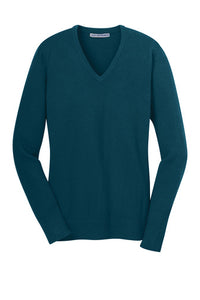 HBPC Port Authority® Ladies V-Neck Sweater LSW285