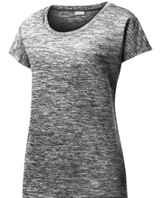 Load image into Gallery viewer, Sport-Tek® Ladies PosiCharge® Electric Heather Sporty Tee