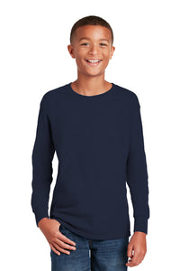 Hornell Gildan® Youth Heavy Cotton™ 100% Cotton Long Sleeve T-Shirt - 5400B