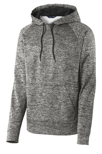 HBPC Sport-Tek® PosiCharge® Electric Heather Fleece Hooded Pullover ST225