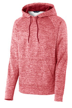 Load image into Gallery viewer, U of R Sport-Tek® PosiCharge® Electric Heather Fleece Hooded Pullover ST225