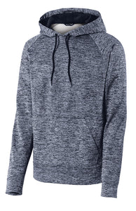 U of R Sport-Tek® PosiCharge® Electric Heather Fleece Hooded Pullover ST225