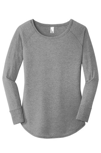 Boces DT132L  District ® Women's Perfect Tri ® Long Sleeve Tunic Tee