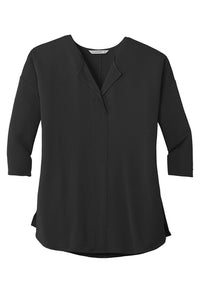 U of R Port Authority® Ladies Concept 3/4-Sleeve Soft Split Neck Top LK5433