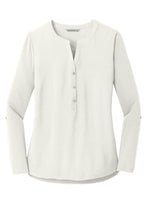 Load image into Gallery viewer, HBPC Port Authority® Ladies Concept Henley Tunic LK5432