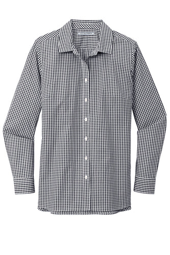 U of R Port Authority ® Ladies Broadcloth Gingham Easy Care Shirt LW644