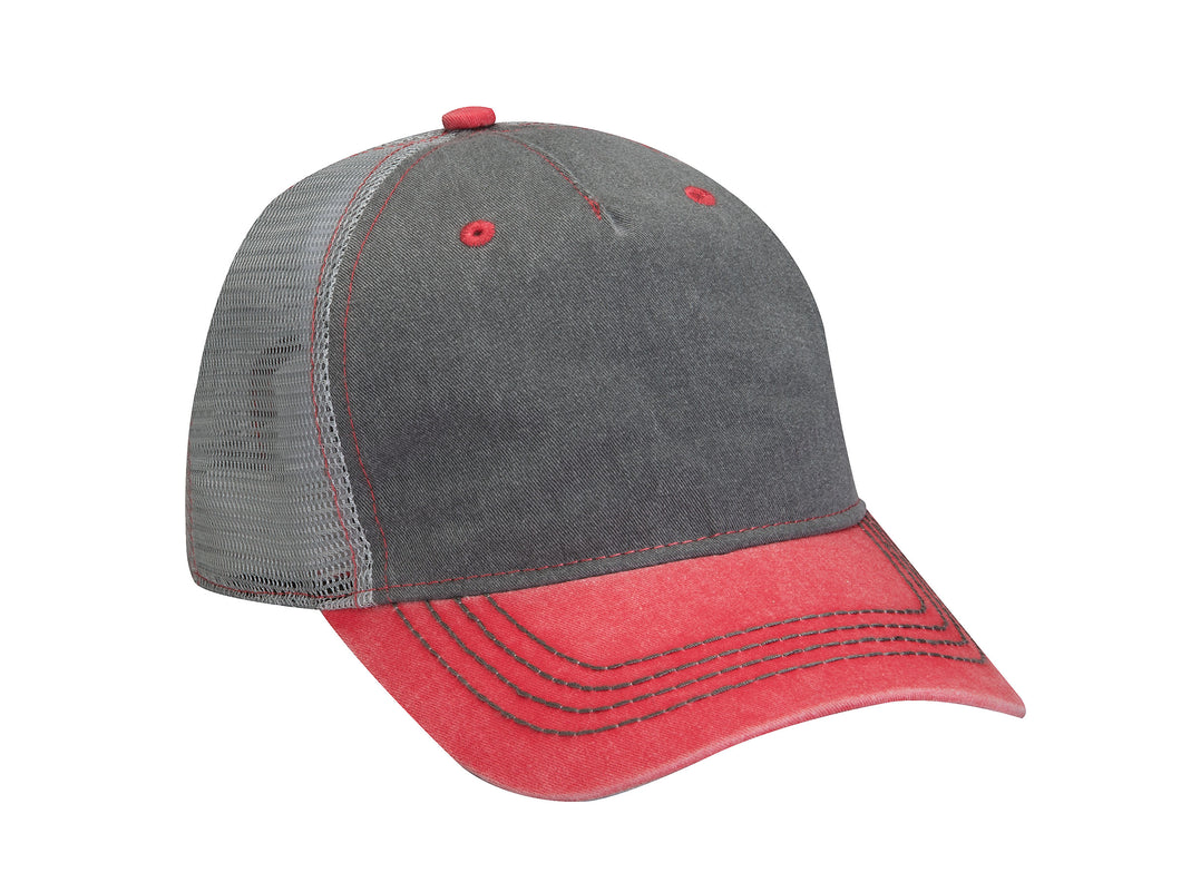 Blake's Adams® Headwear EN102 Endeavor Cap - AD544 (Embroidered Design in White)