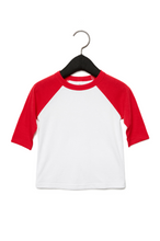 Load image into Gallery viewer, BCOJ CV839 BELLA+CANVAS® 3200T Toddler 3/4 Sleeve Baseball Tee