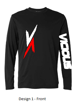 Vicious Ambition- CN288 Champion® CW26 Double Dry® Interlock Long Sleeve T-Shirt