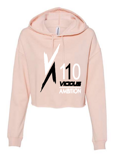 Vicious Ambition - Independent Trading Co. - Women's Lightweight Cropped Hooded Sweatshirt - AFX64CRP