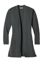 Load image into Gallery viewer, U of R Ladies Long Pocket Cardigan LK5434