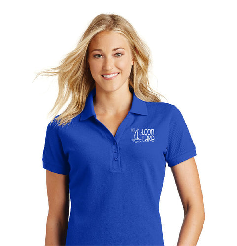 LL Sailboat (Embroidered) Women's Eddie Bauer golf polo