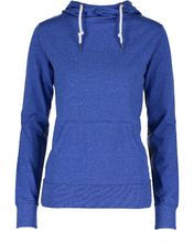 Load image into Gallery viewer, BCOJ EZ091 Enza® 09179 Ladies Long Sleeve Funnel Neck Hooded Tee