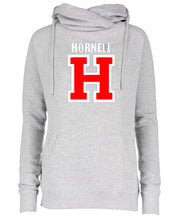 Load image into Gallery viewer, Hornell Ladies Classic Fleece Funnel Neck Hoodie EZ329