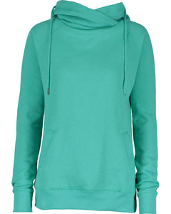 U of R Enza® Ladies Classic Fleece Funnel Neck Pullover Hood EZ329