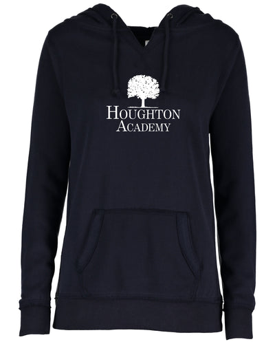 Houghton Academy (Houghton Tree) Ladies V-notch hoodie