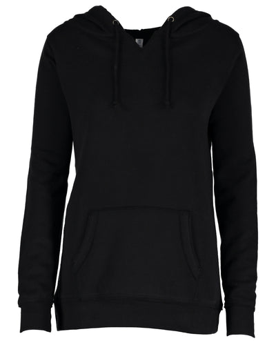 VA  Enza® Ladies V-Notch Fleece Pullover Hood - EZ395