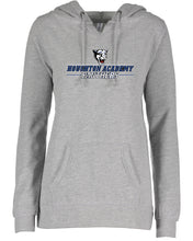Load image into Gallery viewer, Houghton Academy (Panthers Logo) Ladies V-notch hoodie