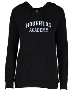 Houghton Academy (Houghton Academy Words) Ladies V-notch hoodie