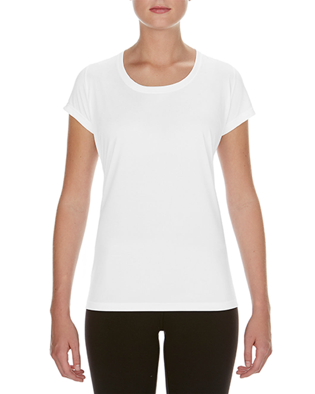 Cal-Mum GD084 White Gildan® 46000L Performance® Ladies' Core T-Shirt