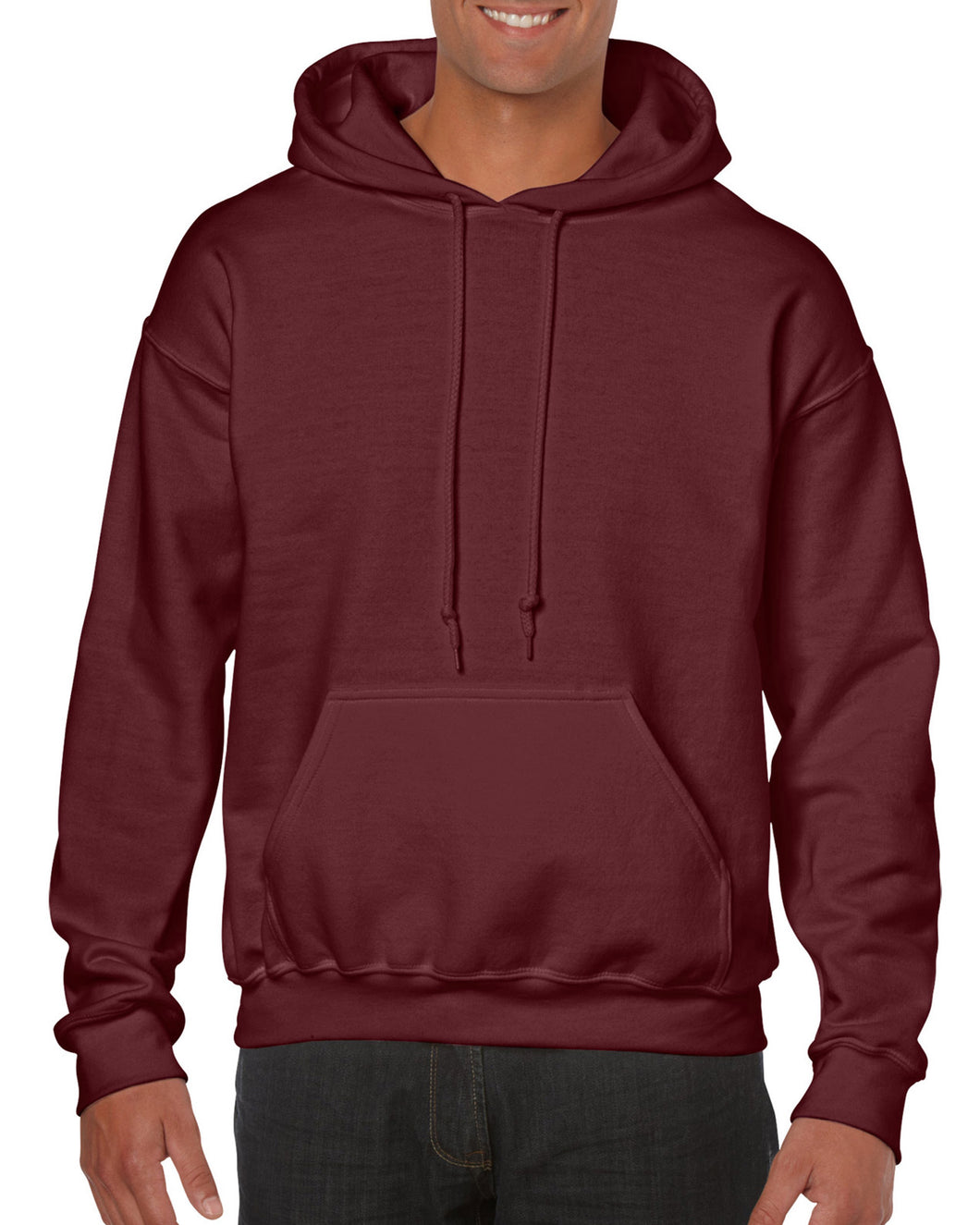 Cal-Mum GD342 Maroon Gildan® 18500 Heavy Blend™ Adult Hooded Sweatshirt