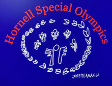 Load image into Gallery viewer, Hornell Special Olympics EZ328 Enza® 32879 Unisex Colorblock Fleece Pullover Hood