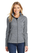 Load image into Gallery viewer, U of R Port Authority® Ladies Digi Stripe Fleece Jacket L231