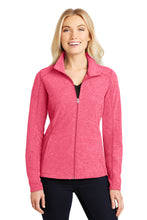 Load image into Gallery viewer, U of R Port Authority® Ladies Heather Microfleece Full-Zip Jacket L235
